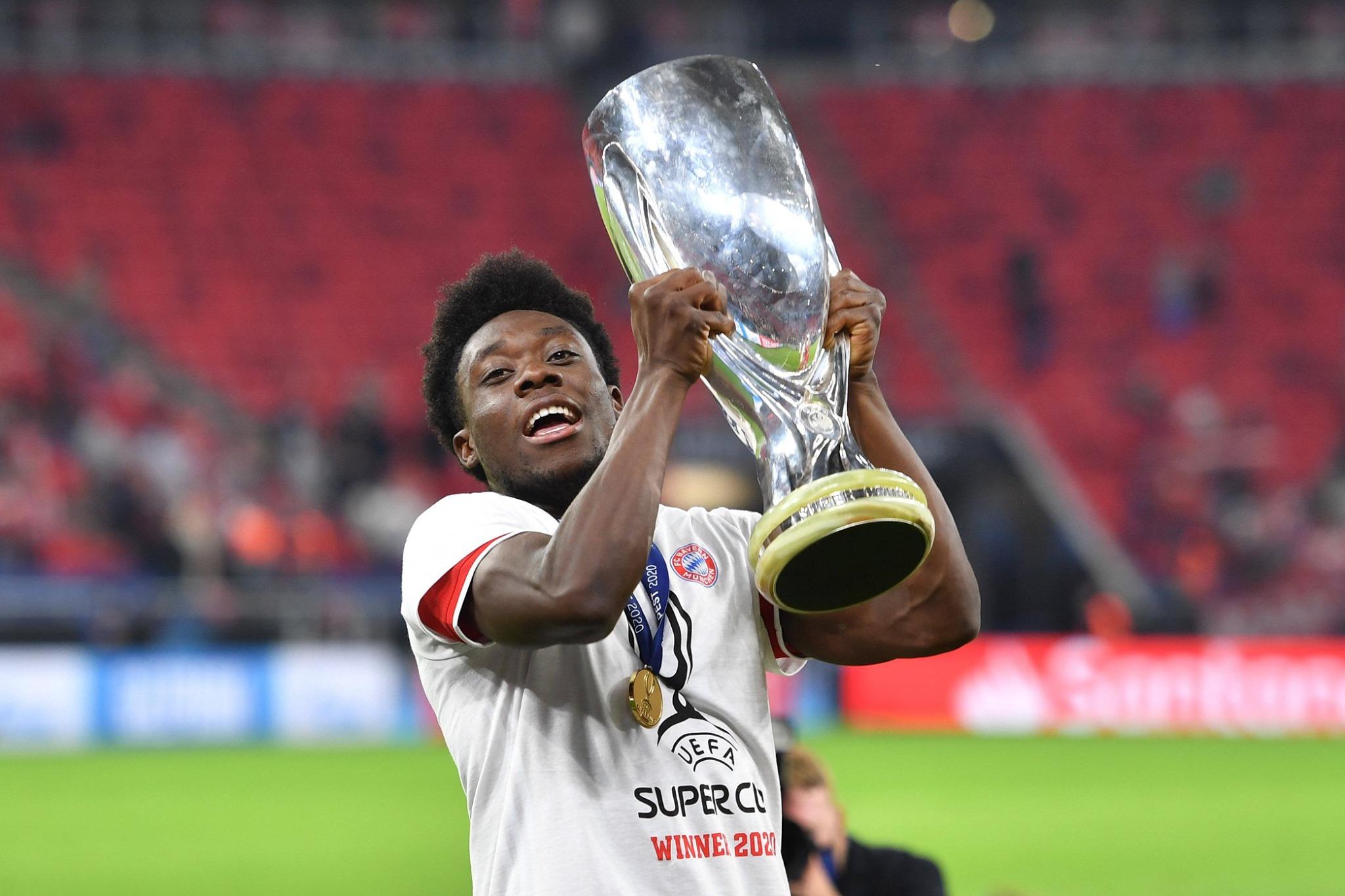 Alphonso Davies é avaliado como o jogador jovem mais valioso do futebol. Foto: Facebook/Reprodução