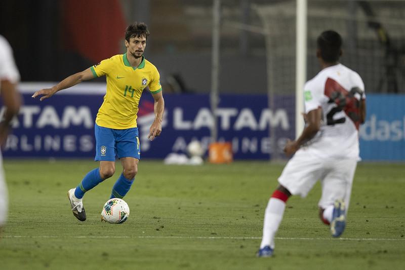 Rodrigo Caio foi cortado por lesão na panturrilha. Foto: Lucas Figueiredo/CBF