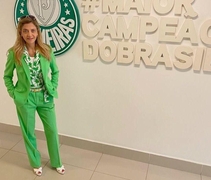 Patrocinadora do Verdão mostrou confiança com a chegada do técnico português. Foto: Instagram/Reprodução