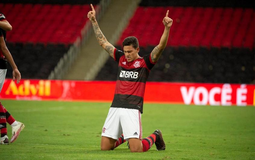 Atacante tem 20 gols neste temporada. Foto: Alexandre Vidal/Flamengo