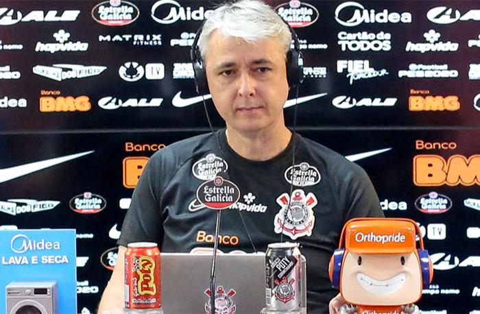 Tiago Nunes, ex-técnico do Corinthians. Foto: Rodrigo Coca/Corinthians