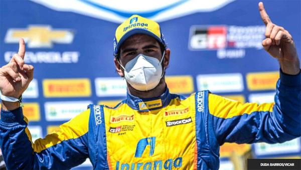 Piloto da Ipiranga Racing teve um fim de semana impecável. Foto: Duda Bairros/Vicar