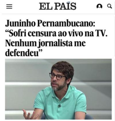 Numa entrevista ao jornal `El Pais`, ex-jogador questiona qualidade da mídia esportiva