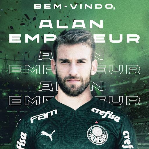 Alan Empereur pertence ao Hellas Verona, da Itália, e chega por um ano no Verdão. Foto: Divulgação