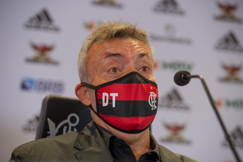Dome deixa o Mengão com 63% de aproveitamento. Foto: Marcelo Cortes/Flamengo