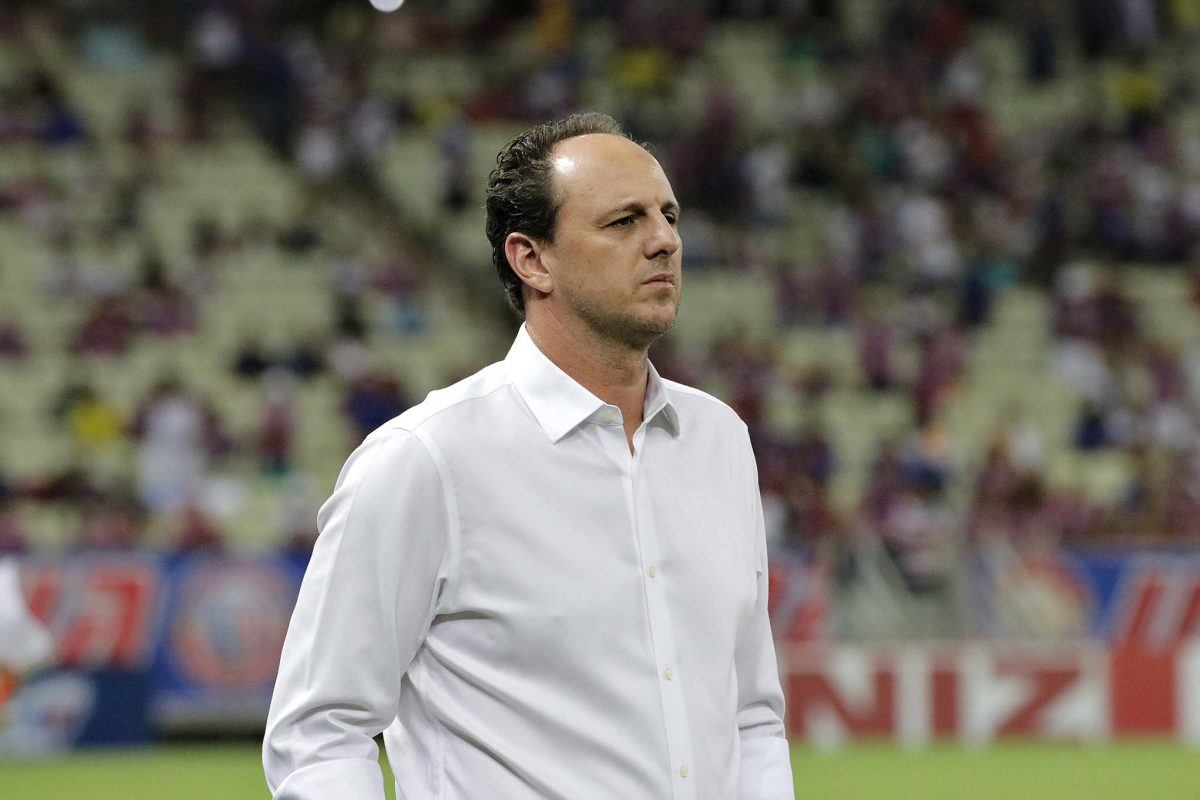 Rogério assinou contrato até o fim de 2021 com o Mengão. Foto: Fortaleza/Divulgação