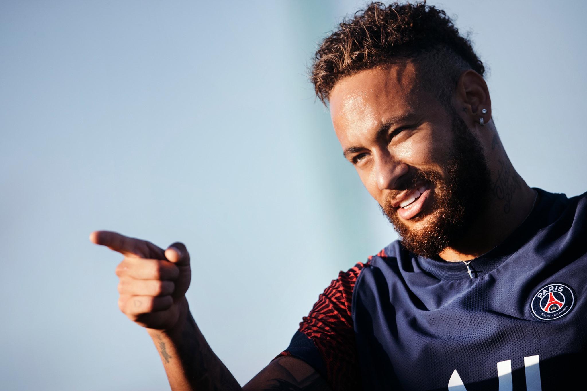 Neymar tem contrato até junho de 2022 com o PSG. Foto: Facebook/Reprodução
