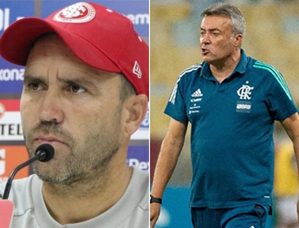 Fotos: Ricardo Duarte/Internacional e Alexandre Vidal/Flamengo