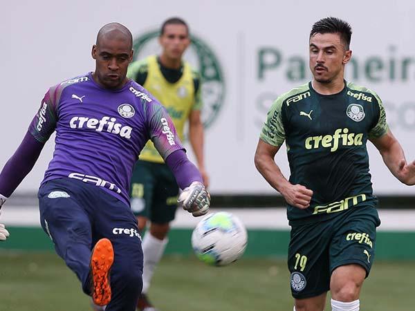 Jaílson e Willian devem ganhar chance no Verdão diante do Ceará. Foto: Cesar Greco