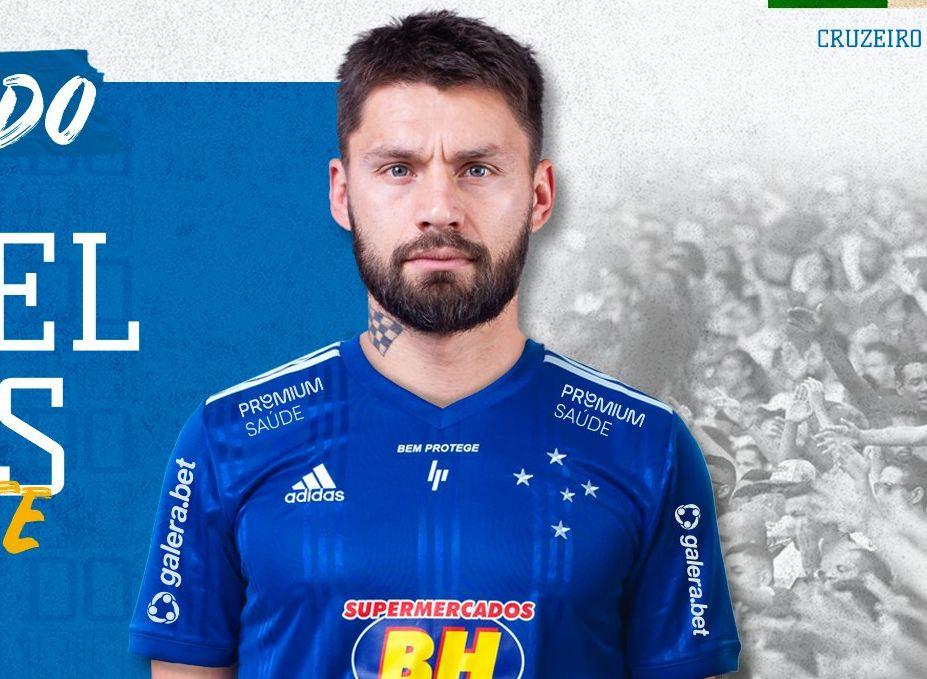 Sóbis assinou contrato até 2021 com o time de Minas Gerais. Foto: Divulgação