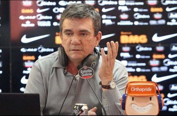 Presidente corintiano seguirá como diretor de futebol do clube. Foto: Rodrigo Coca/Ag Corinthians