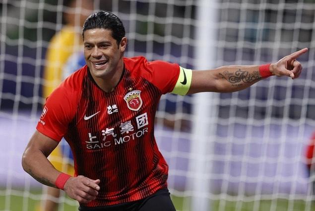 Hulk chegou ao Shangai SIPG em 2016 e agora deixa o futebol chinês. Foto: Instagram/Reprodução
