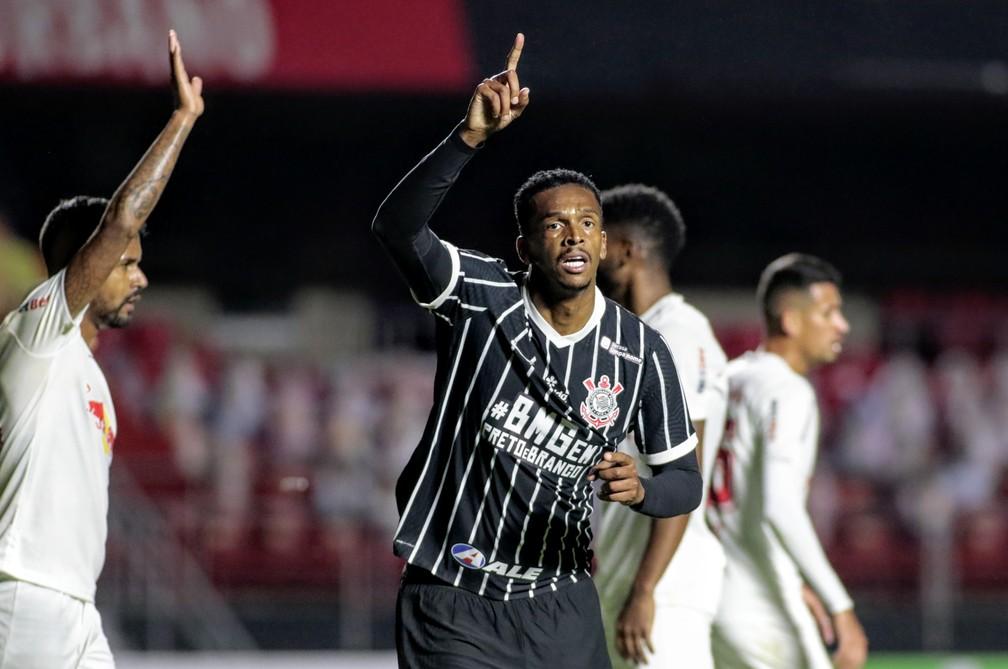 Jô vinha desfalcando o Corinthians por conta de lesão e vivia a expectativa de voltar ao time diante do Galo. Foto: Rodrigo Coca/Ag Corinthians