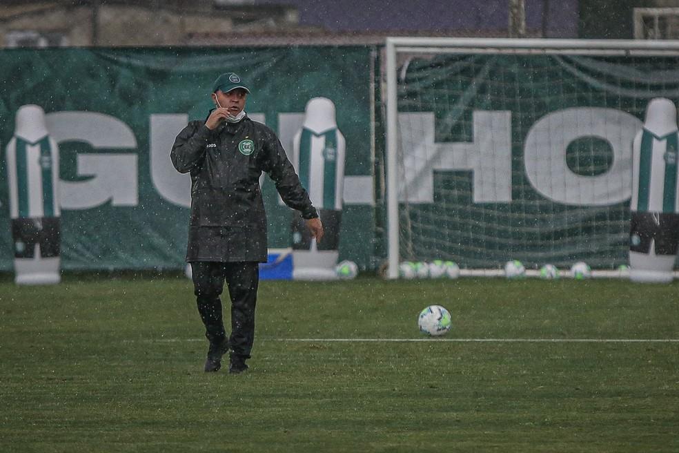 Pachequinho comandará a equipe paranaense. Foto: Coritiba/Divulgação