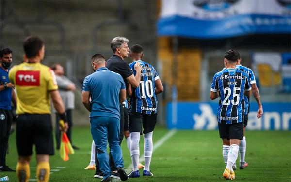 Equipe gaúcha passou pelo Ceará no último sábado. Foto: Lucas Uebel/Grêmio FBPA
