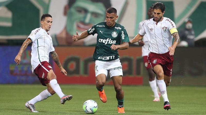 Gabriel Veron é um dos jogadores do Verdão infectados pelo coronavírus. Foto: Cesar Greco