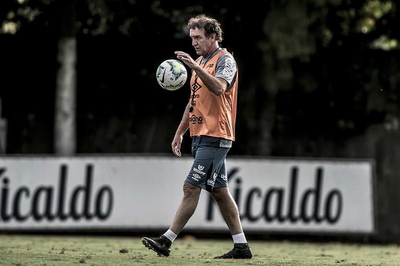 Técnico do Santos seguirá afastado dos gramados por mais 10 dias. Foto: Ivan Storti/Santos FC