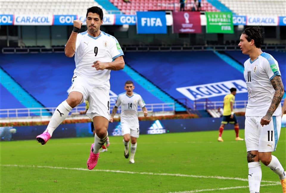 Atacante uruguaio testou positivo para Covid-19, mas está em bom estado de saúde, segundo a seleção celeste. Foto: Facebook/Reprodução
