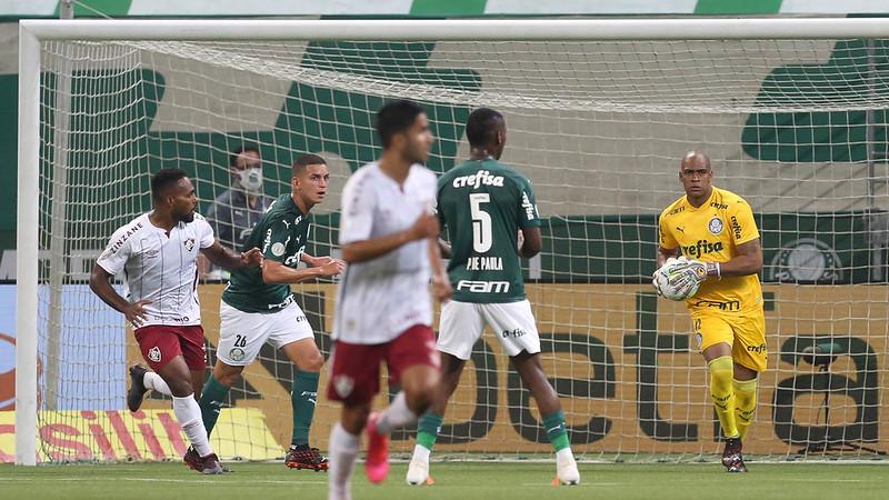 Goleiro do Verdão é mais um dos atletas palmeirenses infectados pelo coronavírus. Foto: Cesar Greco