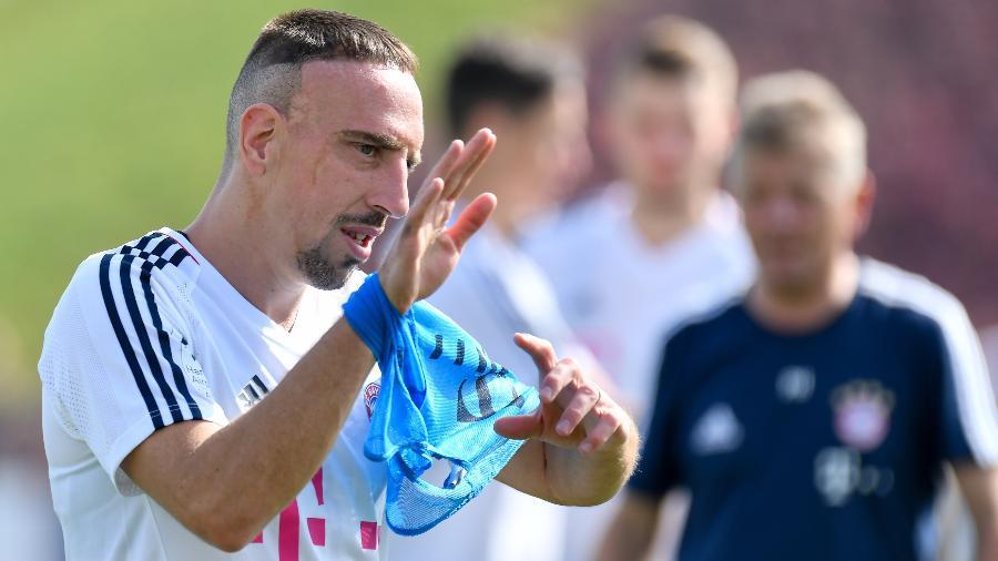 Franck Ribéry conquistou mais de 20 títulos em 12 temporadas com a camisa do time alemão