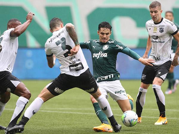 Palmeiras venceu a partida de ida por 3 a 0 no Allianz Parque. Foto: Cesar Greco