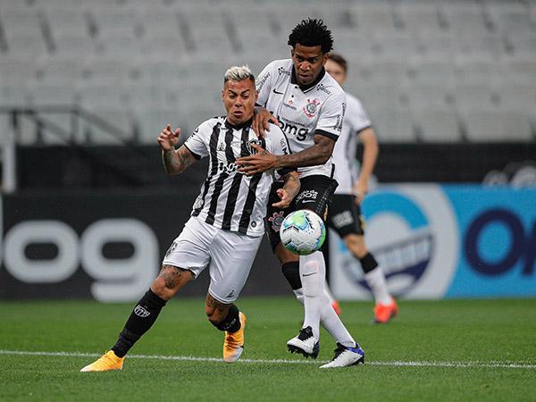 Atacante Vargas é um dos jogadores do galo que testaram positivo para Covid-19. Foto: Pedro Souza / Agência Galo / Atlético