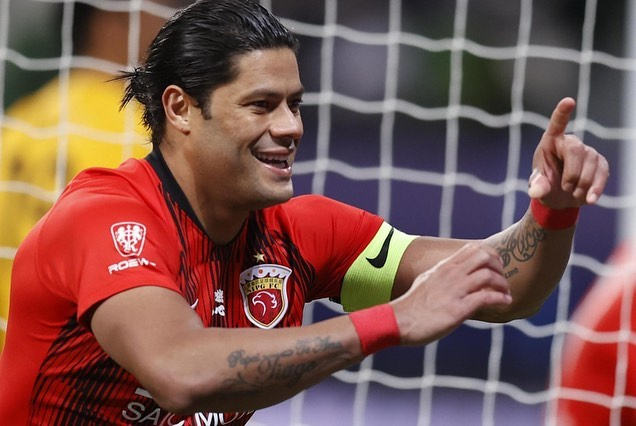Atacante brasileiro deixou o futebol chinês e está livre no mercado. Foto: Instagram/Reprodução