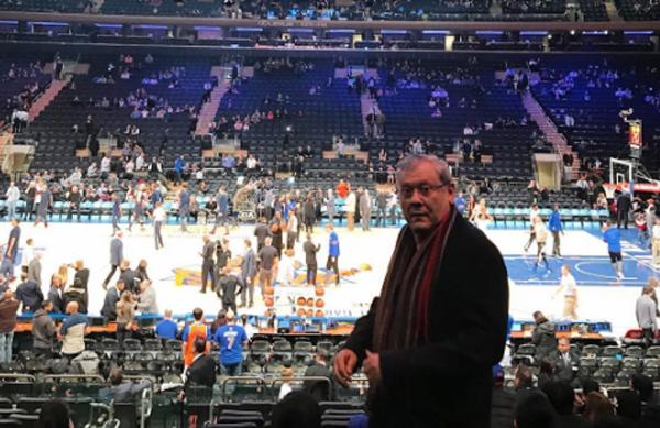 Jornalista viu a vitória do Washington Wizards sobre o New York Nicks no famoso complexo