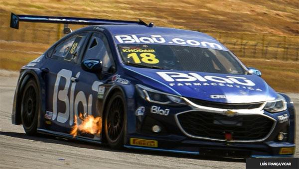 Piloto da Blau Motorsport começou o fim de semana na frente. Foto: Luís França/Vicar