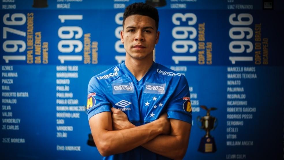 Marquinhos Gabriel chegou ao time mineiro em 2019 e fez parte da campanha do rebaixamento. Foto: Divulgação