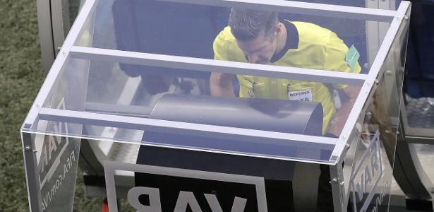 Tecnologia foi utilizada na Copa do Mundo da Rússia. Foto: Themba Hadebe/AP/Via UOL