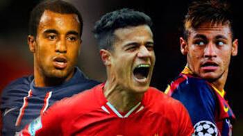 Alguns meses atrás, ninguém imaginava qual seria o futuro de Neymar, Coutinho e Lucas