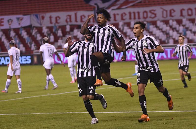 Empate ou até mesmo derrota por 1 a 0 dá a classificação ao Peixe. Foto: Staff images /CONMEBOL