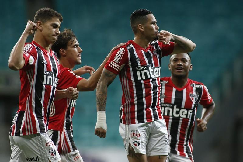 Se vencer o Goiás, Tricolor passa o Galo e assume a ponta do campeonato. Foto: Miguel Schincariol / saopaulofc.net