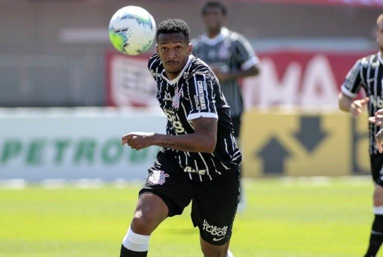 Jô, atacante do Corinthians. Foto; Rodrigo Coca/Ag. Corinthians