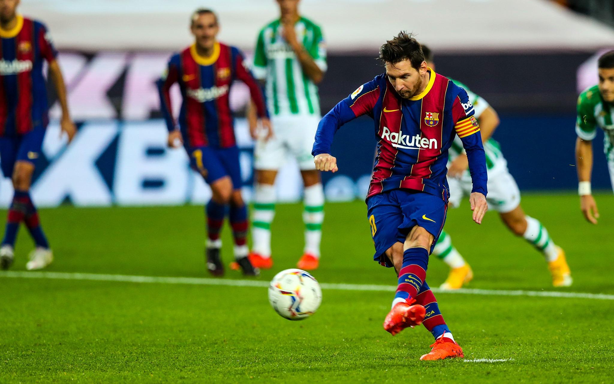 Messi tem contrato com o Barcelona até junho de 2021. Foto: Facebook/Reprodução