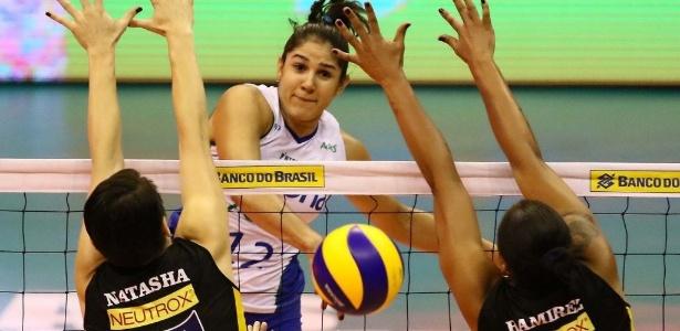 Natália, ponteira do Rio de Janeiro foi eleita a melhor da final