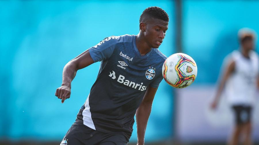 Lateral já atuou em 29 partidas pelo Tricolor. Foto: Lucas Uebel/Grêmio FBPA