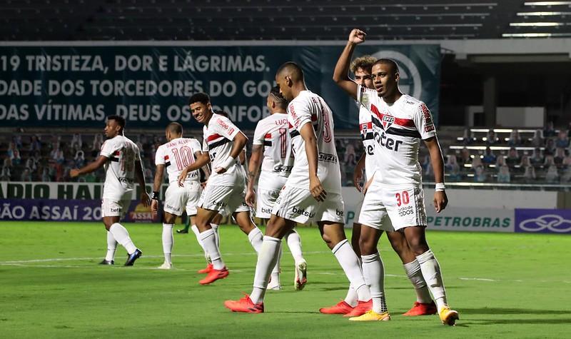 Tricolor ocupa a liderança do Brasileiro com 44 pontos, dois a mais que o segundo colocado Atlético-MG. Foto: Rubens Chiri / saopaulofc.net
