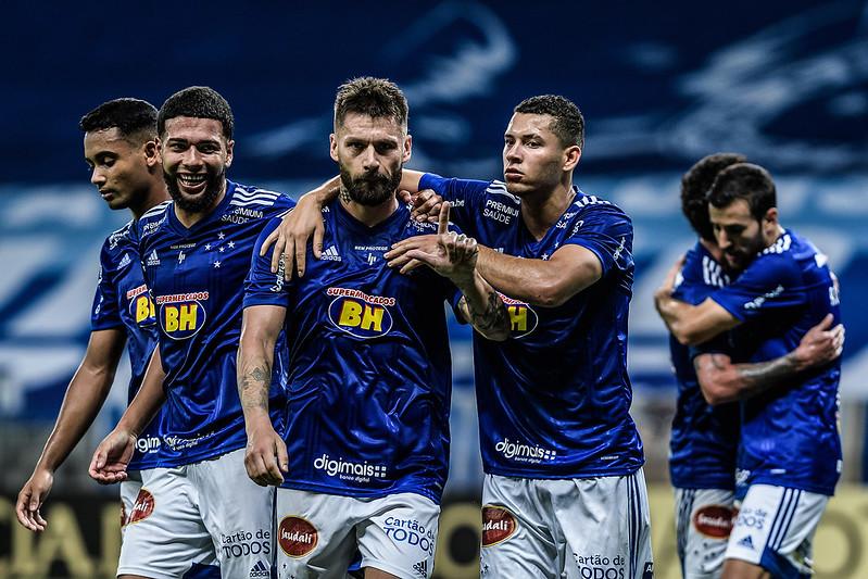 Cruzeiro é o 11º colocado na classificação da Série B e está há 9 pontos do G4. Foto: Gustavo Aleixo/Cruzeiro