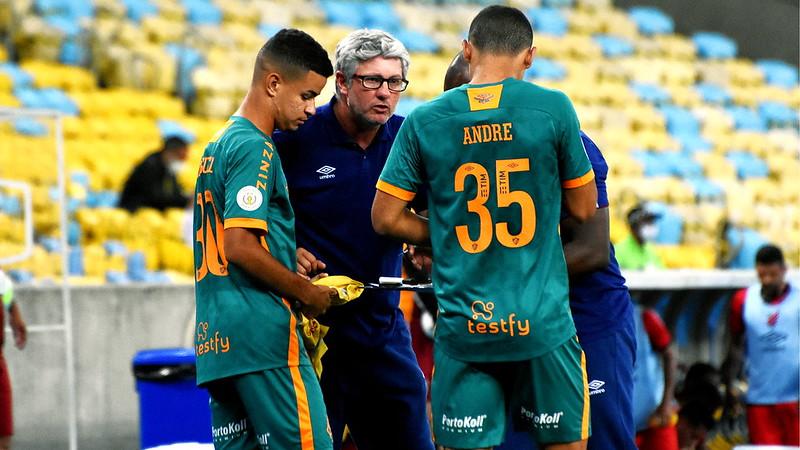 Sob o comando de Odair, Flu está na 5ª posição do Brasileirão. Foto: Mailson Santana/Fluminense FC