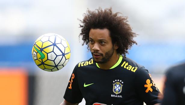 Marcelo já entrou para o time de Nilton Santos, Júnior, Roberto Carlos e Marinho Chagas. Foto: Lucas Figueiredo/CBF