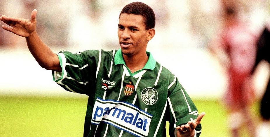Pelo Verdão, o atleta conquistou o Paulista de 1996. Foto: Divulgação