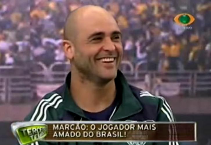 Ex-goleiro provocou muitos risos no programa em 2008. Foto: Reprodução