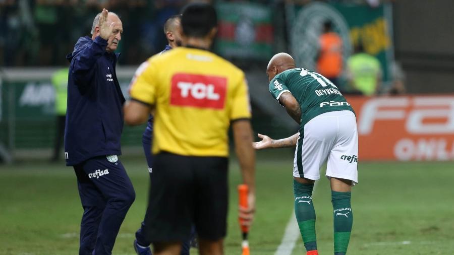 Felipão voltará a colocar Deyverson no comando do ataque do Palmeiras