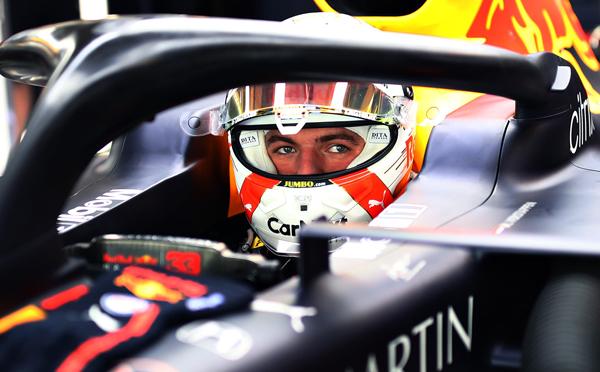 Holandês foi meio segundo melhor que o segundo colocado. Foto: Aston Martin Red Bull Racing