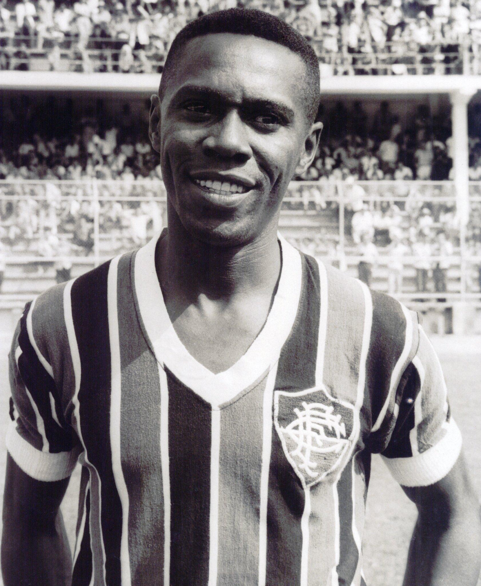 Escurinho é o quinto jogador que mais vestiu a camisa do Flu. Foto: Fluminense/Divulgação