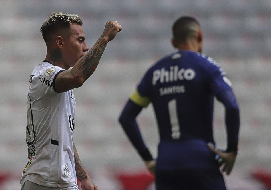 Galo venceu o Furacão com gol de Vargas. Foto: Twitter/Atletico