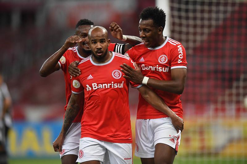Patrick marcou um dos gols do Colorado no Beira-Rio. Foto: Ricardo Duarte