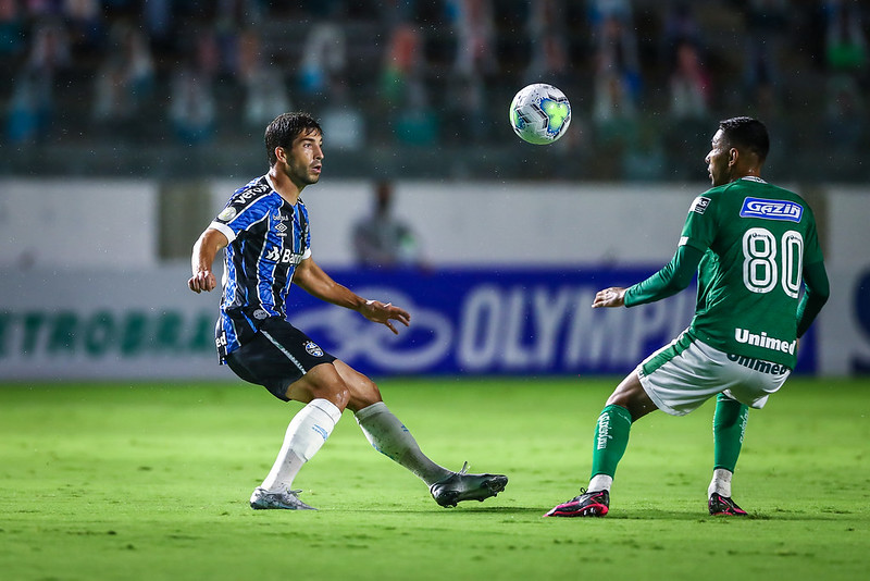 Tricolor gaúcho poupou alguns titulares visando partida contra o Santos na libertadores. Foto: Lucas Ubel/GFBA